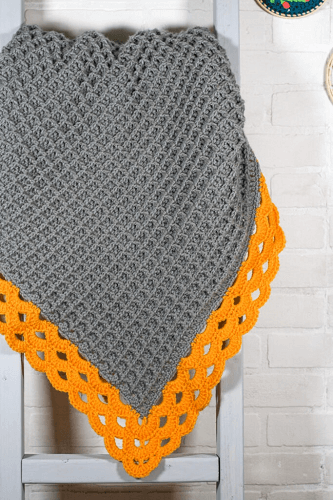 Arcade Waffle Crochet Blanket Pattern by Winding Road Crochet