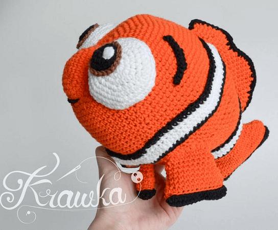 Crochet Clown Fish Pattern by Krawka