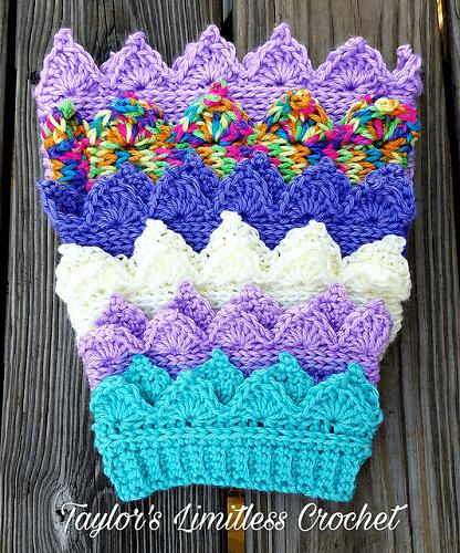 Crochet Crown Ear Warmer Pattern by Crochet For You