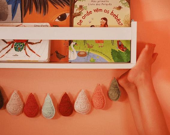 Crochet Droplet Bunting Pattern by Moara Crochet