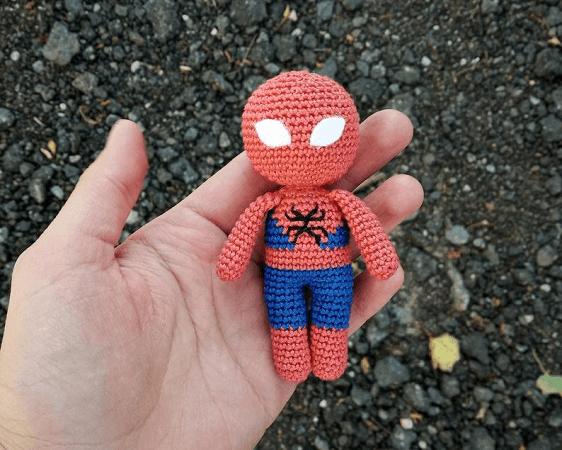 Crochet Spiderman Amigurumi Pattern by Tatyana Baby Toys