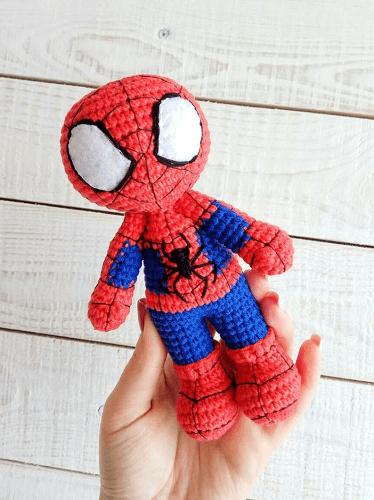 Crochet Spiderman Pattern by K Sunny Handicraft