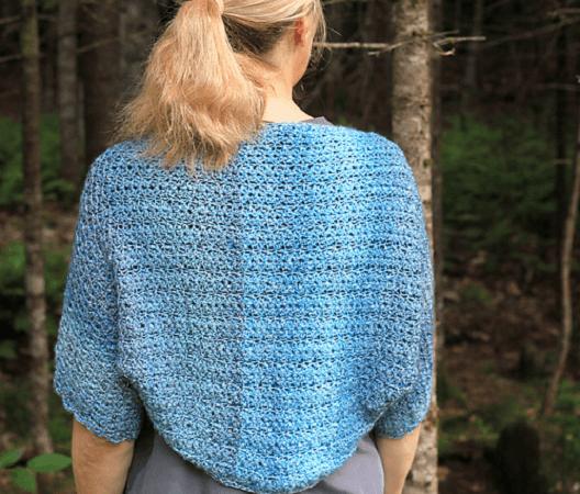 Fairy Garden Shrug Crochet Pattern by The Autumn Acorn