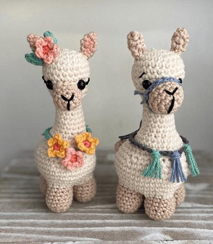 Llama Crochet Pattern by Cloud 9 Knots