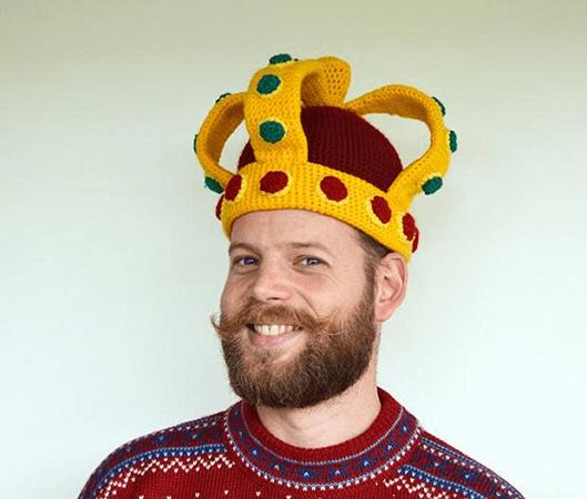 Royal Crown Crochet Pattern by Vliegende Hollander