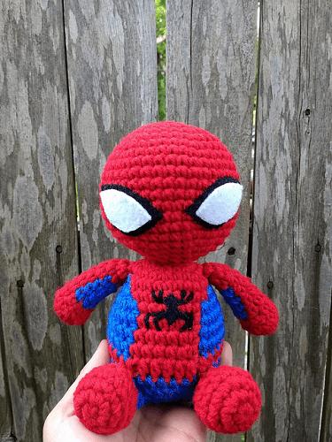 Spiderman Crochet Pattern by Lupita Suarez