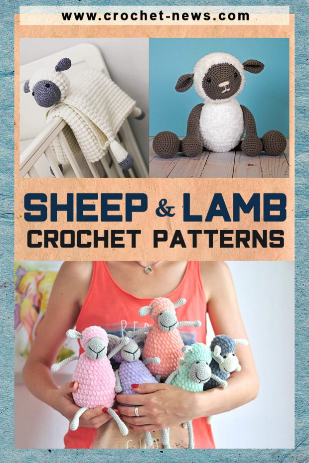 CROCHET SHEEP AND LAMB PATTERNS