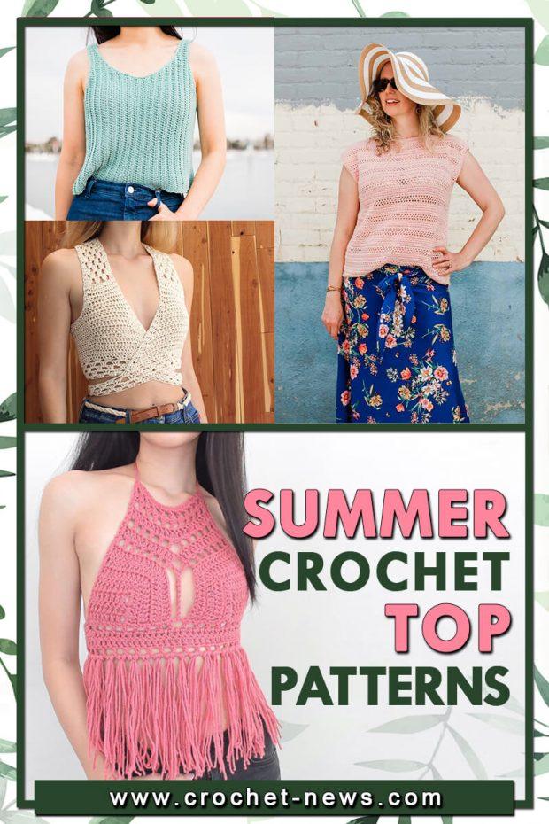 SUMMER CROCHET TOP PATTERNS