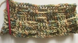 Crochet Basket Weave Stitch