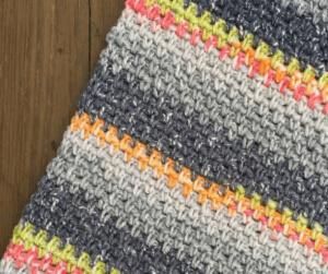 Crochet Granite Stitch