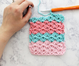 Crochet Iris Stitch