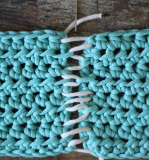 Crochet Mattress Stitch
