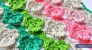 Crochet Shamrock Stitch