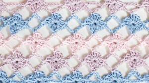 Flower Crochet Lattice Stitch