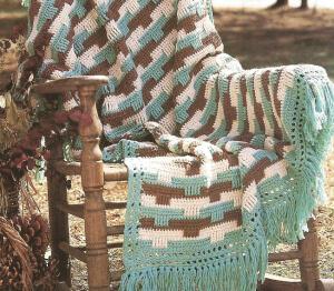 Front Post Double Crochet Stitch