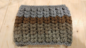 V Puff Stitch Crochet