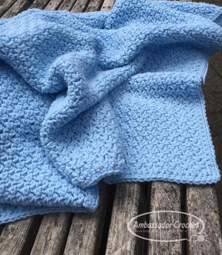 Baby Blanket Crochet Pattern by Ambassador Crochet