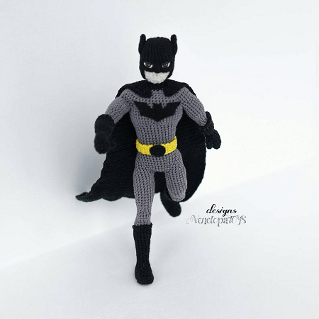 Batman Amigurumi Pattern by Venelopa Toys