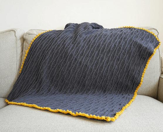 Calm Dreams Baby Blanket Crochet Pattern by Malloo Knits