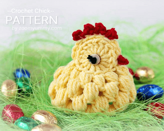 Crochet Chick Pattern by Zoom Yummy