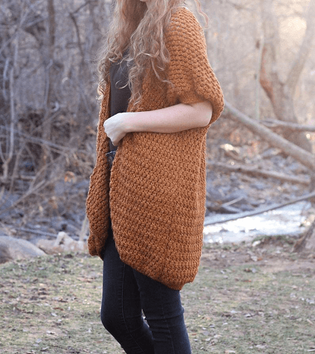 Crochet Kimono Pattern by Hooked On Tilly