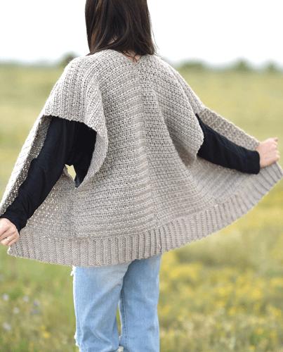 Everyday Kimono Crochet Pattern by Mama In A Stitch