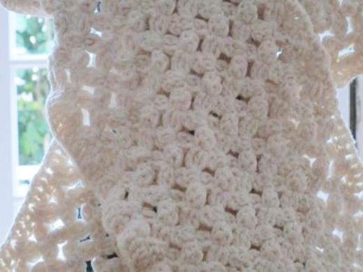 floral trellis stitch crochet tutorial 1