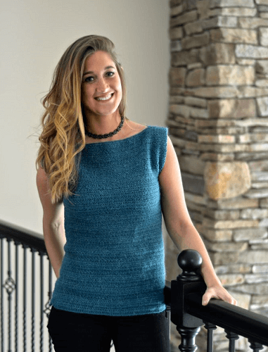 Free Summer Top Crochet Pattern by A Crocheted Simplicity