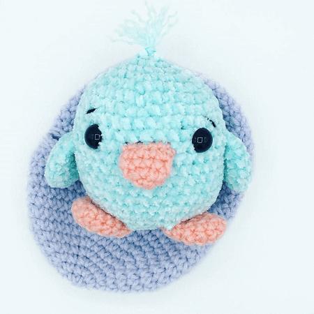 Hatching Amigurumi Chick Crochet Pattern by Kayte Dids