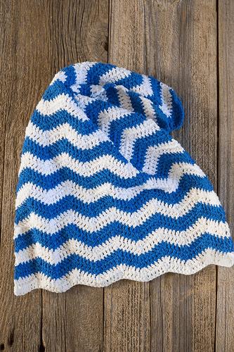 Ripple Crochet Dish Towel Pattern by Copsey Media