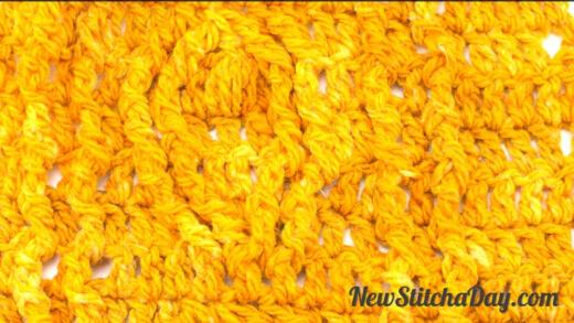 tulip cable stitch