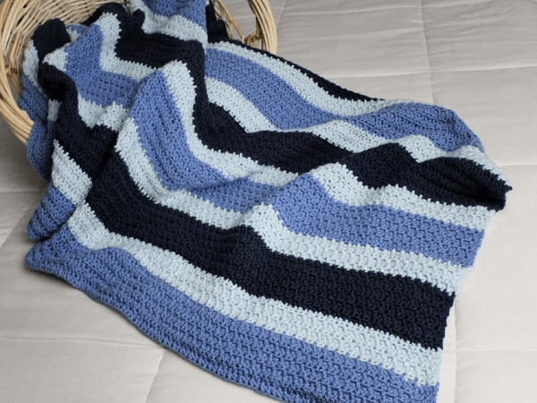 Dude Blanket Free Crochet Pattern by Two Brothers Blankets