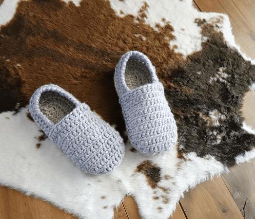 Men Slippers Crochet Pattern by Crochet Milie