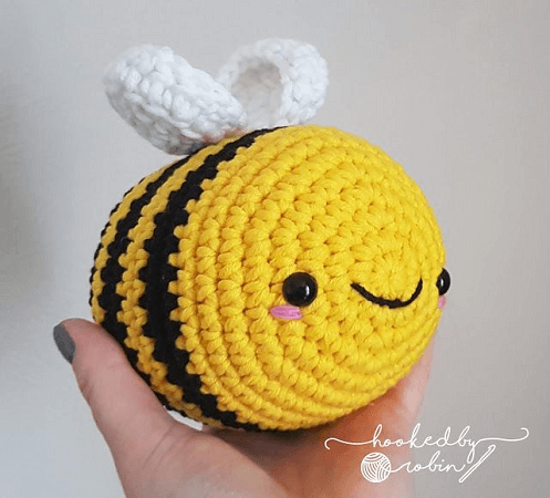 Amigurumi Bumblebee Pattern by Hooked Up By Robin