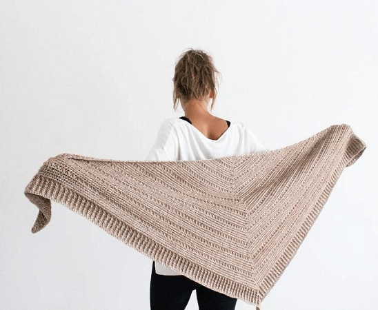 Branch Out Shawl Crochet Pattern by Kay Krochets
