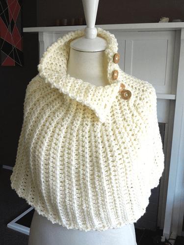 Cape Crochet Pattern by Sarah Taylor Designer