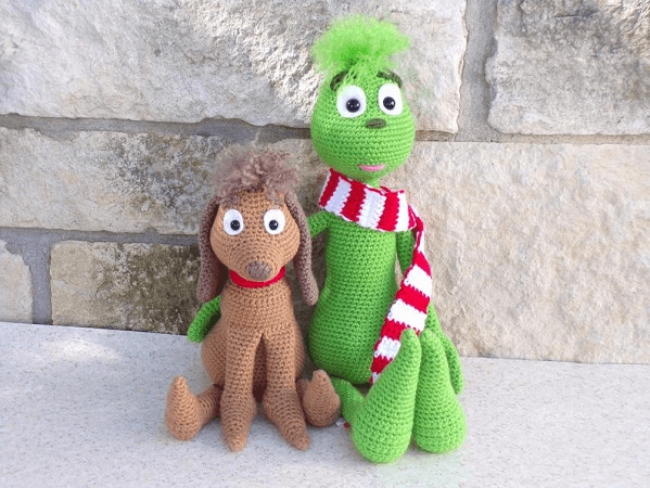 Christmas Thief Amigurumi Pattern by Southern Gals Crochet