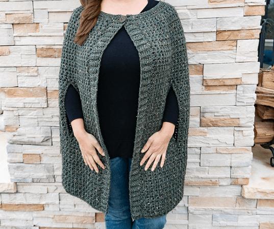 Cordillera Cape Crochet Pattern by Heart Hook Home