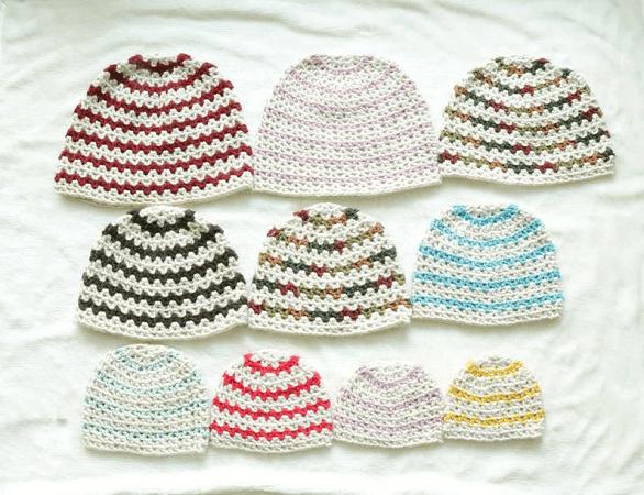Crochet Beanie Pattern by Craft Her Blog