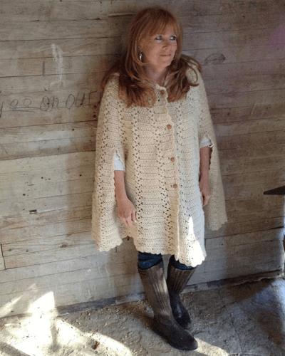 Crochet Cape Pattern by Maggie's Crochet