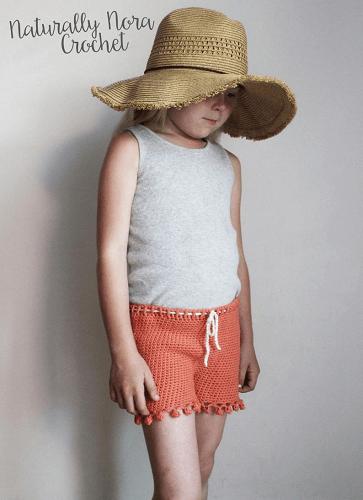 Crochet Isla Shorts Pattern by Naturally Nora Crochet