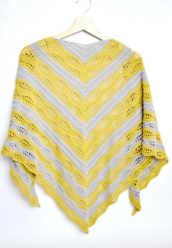 Crochet Kalinda Shawl Pattern by My Crochetory