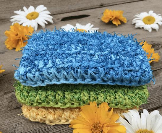 Crochet Kitchen Scrubber Pattern by CAAB Crochet