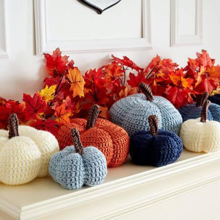 Amigurumi Pumpkin Crochet Pattern by Yarnspirations