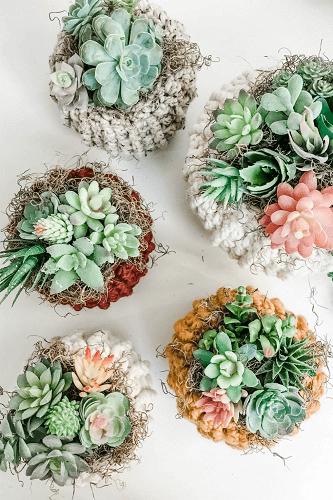 Crochet Succulent Pumpkin Cozy Pattern by MJs Off The Hook Designs