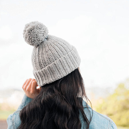 Easy Everyday Crochet Beanie Pattern by For The Frills