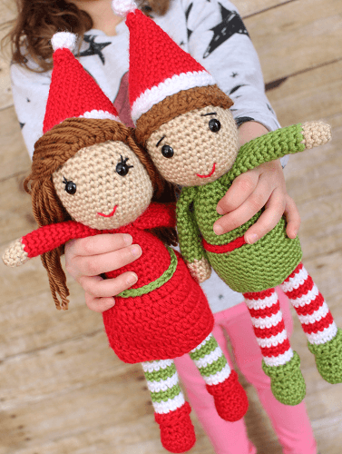 Elf Amigurumi Crochet Pattern by Loops And Love Crochet