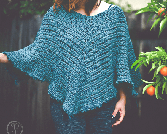 Marlo Cape Crochet Pattern by Designs By Phanessa