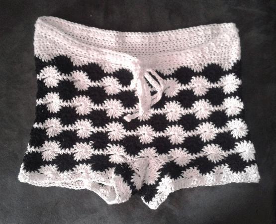 Super Sonic Crochet Shorts Pattern by Hug A Hooker