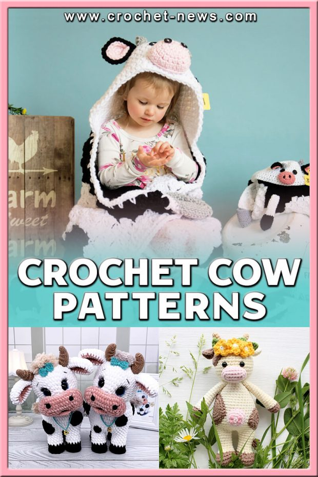 CROCHET COW PATTERNS